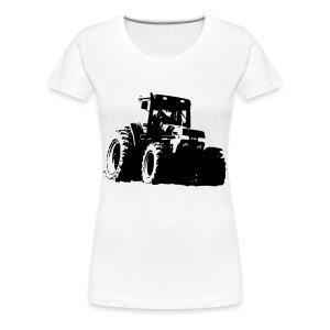 7100 - Premium-T-shirt dam