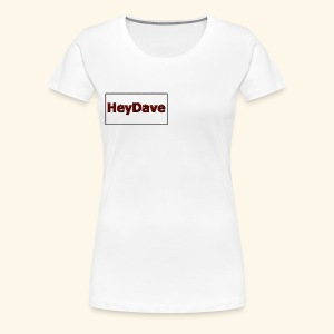 Die Kollektion in weiß! - Frauen Premium T-Shirt