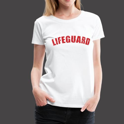 Lifeguard - Frauen Premium T-Shirt