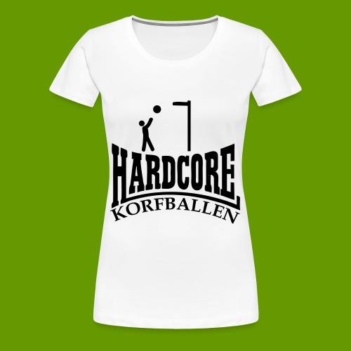 korfballen - Vrouwen Premium T-shirt
