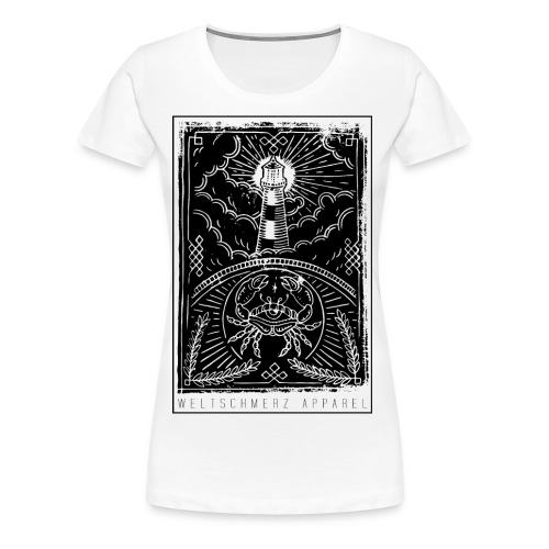Küstenliebe - Frauen Premium T-Shirt