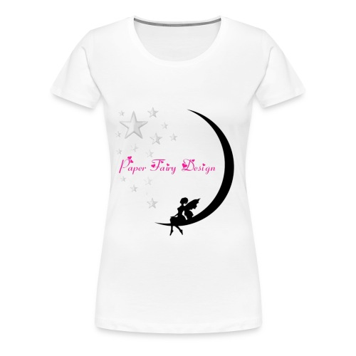 Paper Fairy Design - Frauen Premium T-Shirt