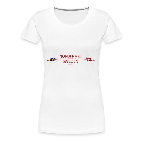 NordFrakt SWEDEN - Premium-T-shirt dam