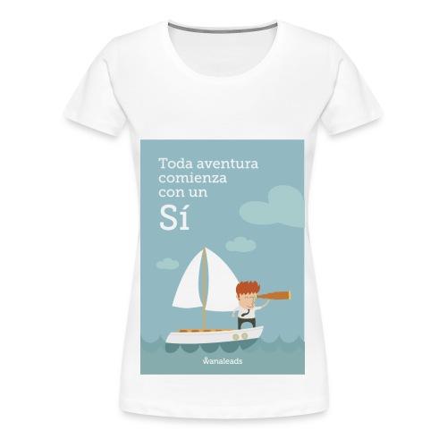 "Camiseta ""Toda Aventura"" de Wanaleads - Camiseta premium mujer"