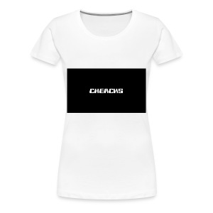 Cheacks MousePad - Vrouwen Premium T-shirt