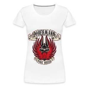 Dobermann Pure B - Women's Premium T-Shirt
