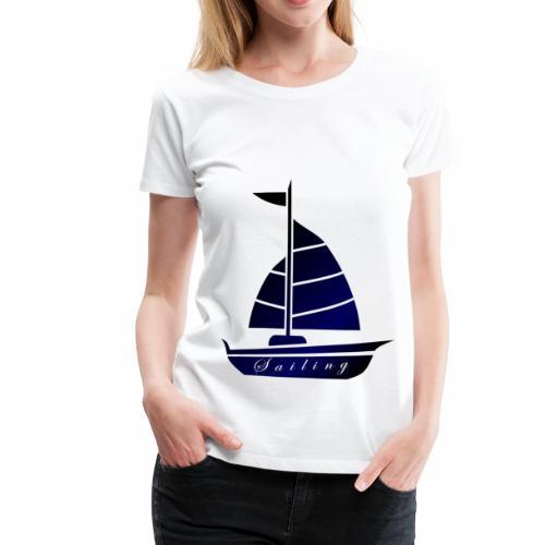 Segeln Ahoi Hamburg Nordsee - Frauen Premium T-Shirt