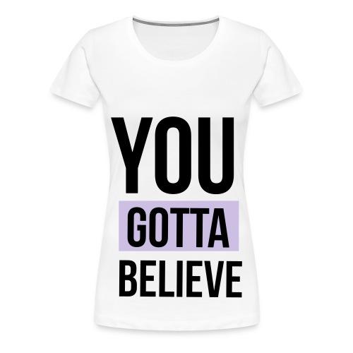 YGB-merch-logo-001 - Vrouwen Premium T-shirt