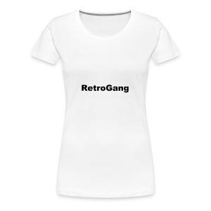 T-shirt retro gang - Vrouwen Premium T-shirt