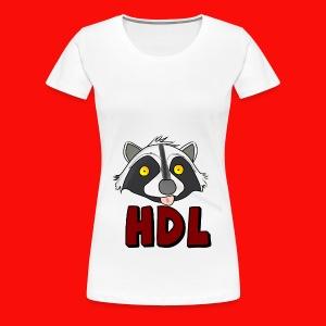 HeadLights Logo Shirt - Vrouwen Premium T-shirt