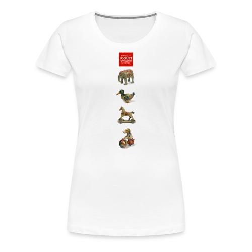 Joguets 1 / Juguetes 1/ Jouets 1/ Toys 1 - Camiseta premium mujer