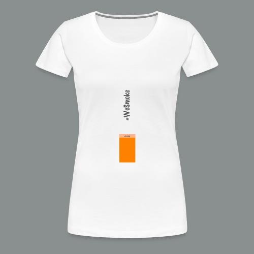 #WeSmoke - Maglietta Premium da donna