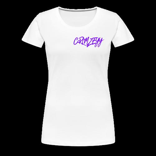 Brush Crimzeyy - Women's Premium T-Shirt
