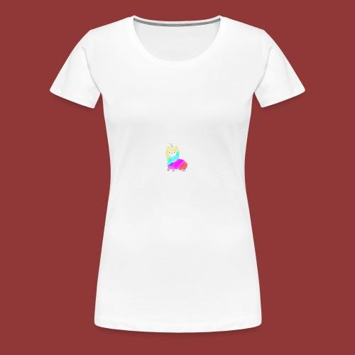 lamacorn - Frauen Premium T-Shirt