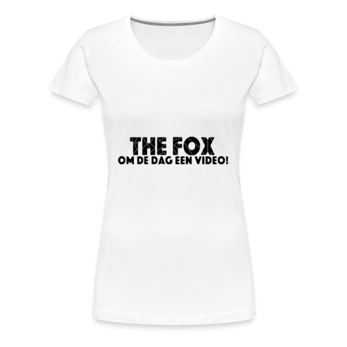 THE FOX - Damesshirt - Vrouwen Premium T-shirt