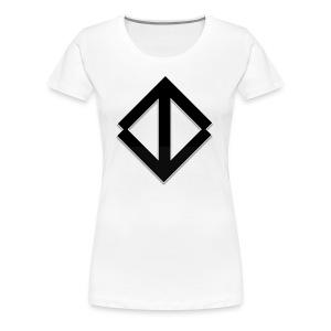 Big Black Logo - Premium-T-shirt dam
