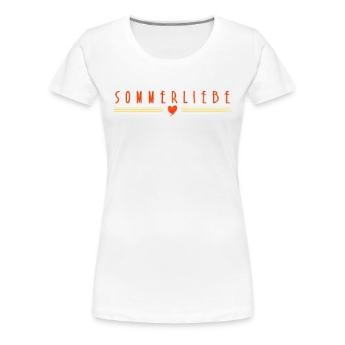 SOMMERLIEBE - Frauen Premium T-Shirt