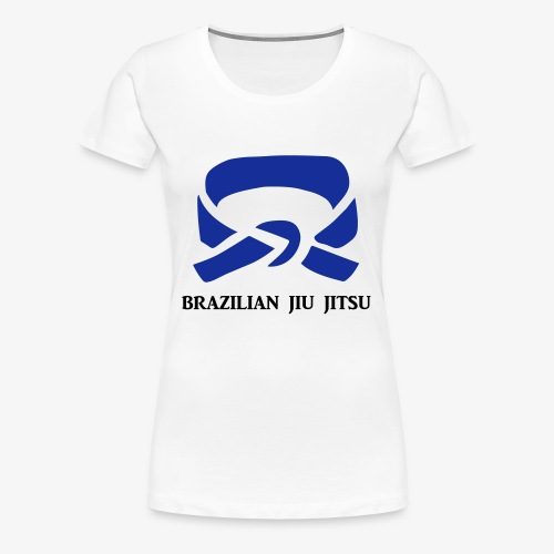 BJJ Blue Belt Clothing - Women's Premium T-Shirt