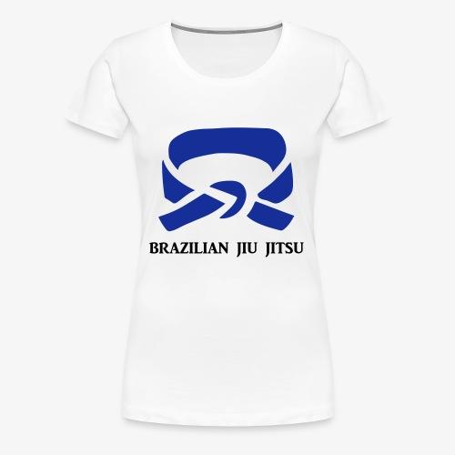 BJJ Blue Belt Clothing - Women's Premium T-Shirt