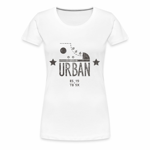 STREETBALL SNEAKER - Turnschuh Sport Shirt Motiv - Frauen Premium T-Shirt