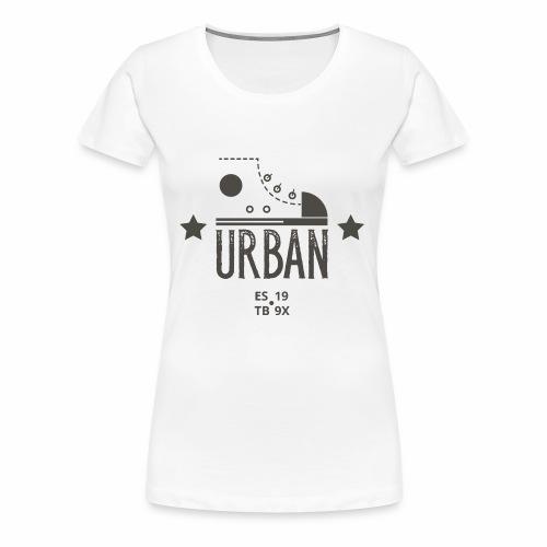 URBAN SNEAKER - Sportler Turnschuh Sport Shirt - Frauen Premium T-Shirt