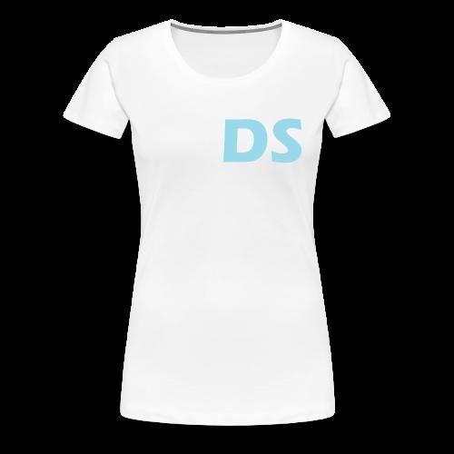 Drone Spotters logo blauw - Vrouwen Premium T-shirt