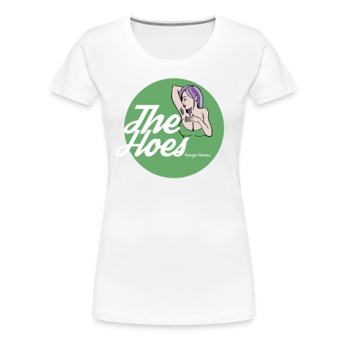 The Hoes Teenage Dreams Green - Frauen Premium T-Shirt
