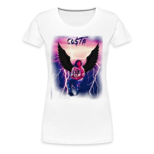 Co$ta Purple Strikes - Women's Premium T-Shirt
