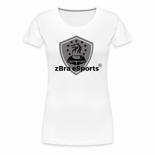 zBra eSports - Frauen Premium T-Shirt