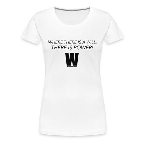Willpower Science - Women's Premium T-Shirt