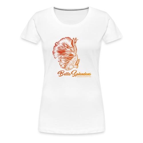 Betta Splendens - Siamesicher Kampffisch - Frauen Premium T-Shirt
