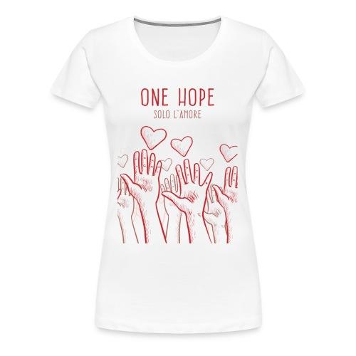 solo l'amore - Maglietta Premium da donna
