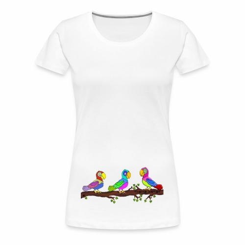 Theme Artist - Naisten premium t-paita