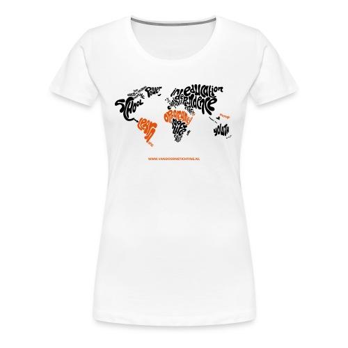 Ontwerp van Leonie Haas Illustratie en Ontwerp - Vrouwen Premium T-shirt