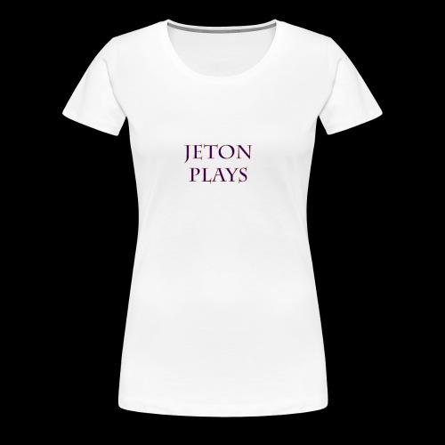 JetonPlays - Vrouwen Premium T-shirt