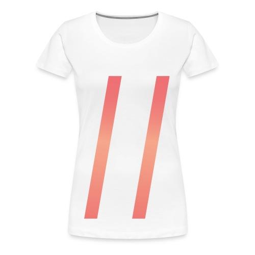 days_liten_uten-png - Premium T-skjorte for kvinner