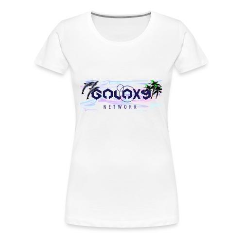 galaxy network bogo - Frauen Premium T-Shirt