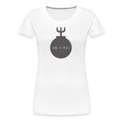 Bash Fork Bomb - Women's Premium T-Shirt