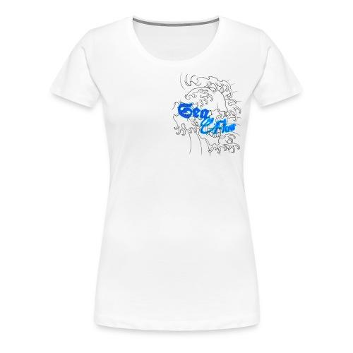 Sea Flow teschio abbigliamento - accessori - Maglietta Premium da donna