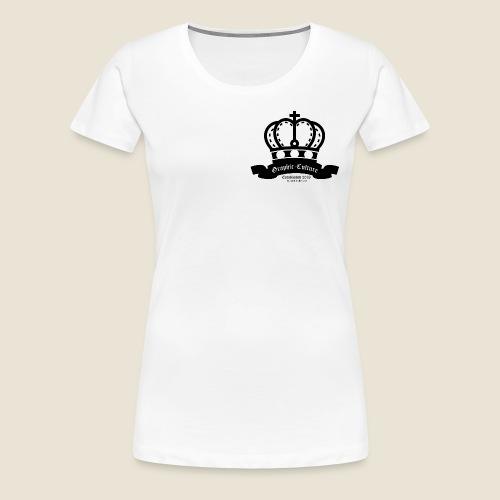Graphic-Culture Krone - Frauen Premium T-Shirt