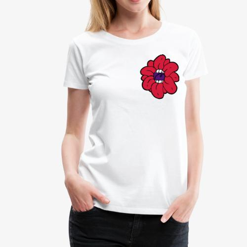 SkinnyCurls Rose - Frauen Premium T-Shirt