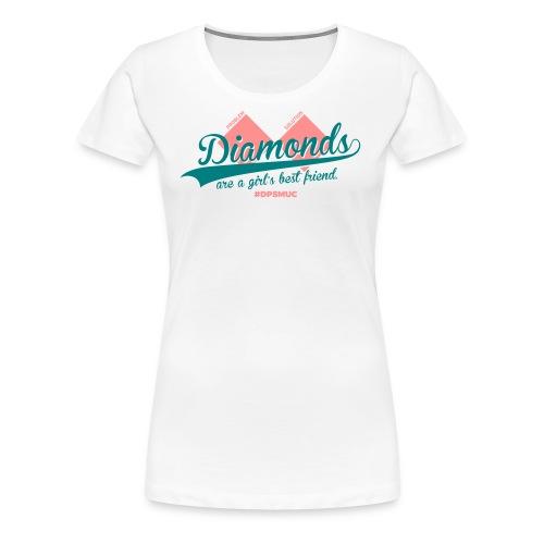 Double Diamond - Frauen Premium T-Shirt