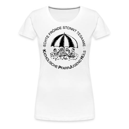 KPJH Logo Einfach - Schwarz - Frauen Premium T-Shirt