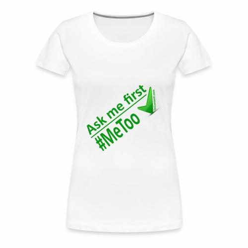 askmefirst logo - Women's Premium T-Shirt