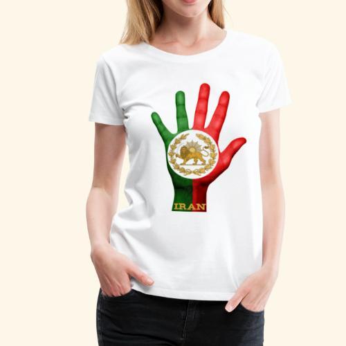 shir khorshid - Frauen Premium T-Shirt