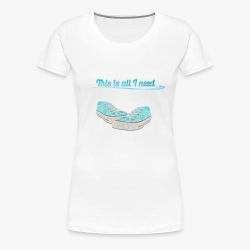 Nature love <3 - Frauen Premium T-Shirt