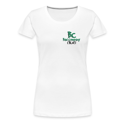 Bad company (BLN!) clothing brand Berlin - Frauen Premium T-Shirt