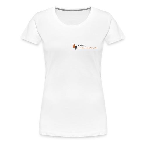 HMFIC Security Consulting Logo - Frauen Premium T-Shirt