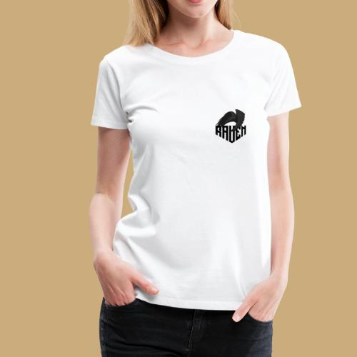 Raven Logo V3 - T-shirt Premium Femme