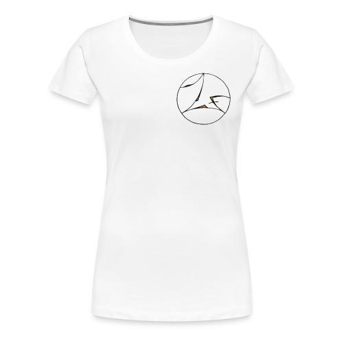 LOGO ZAXOFF - T-shirt Premium Femme